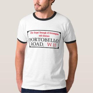 Portobello Road, London Street Sign T Shirts