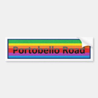 Portobello Road Style 2 Bumper Sticker