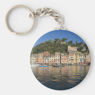 Portofino Basic Round Button Key Ring