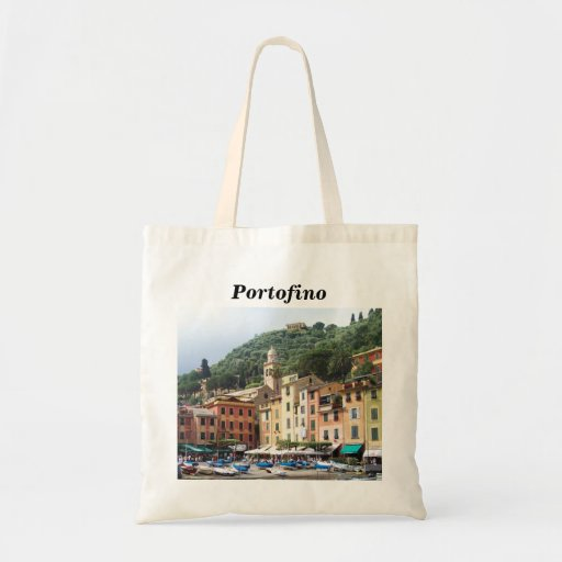 Portofino Dreaming Canvas Bags