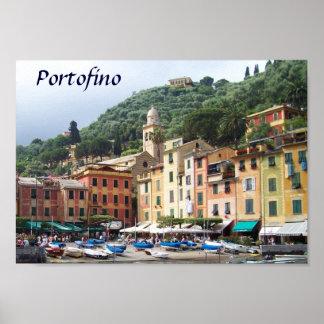 Portofino Dreaming Poster