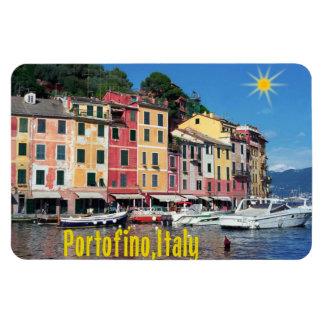 Portofino Rectangular Photo Magnet