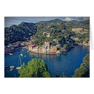 Portofino, Italia - Greeting Card
