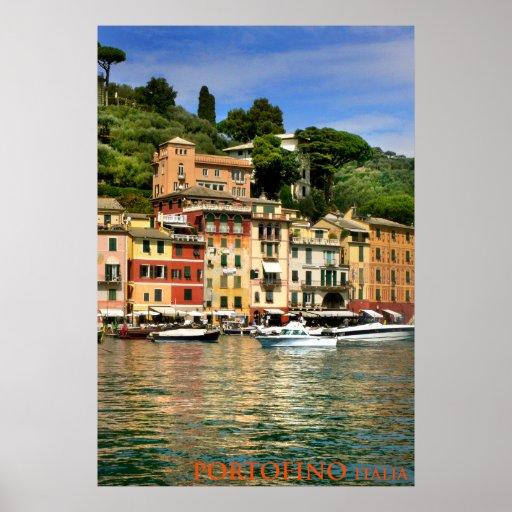 portofino italia poster