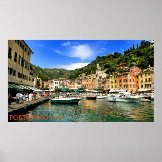 portofino italia print