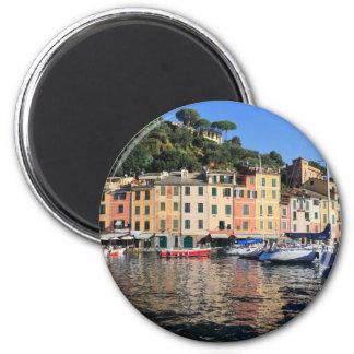 Portofino - Italy 6 Cm Round Magnet