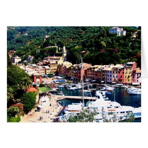 PORTOFINO, ITALY GREETING CARDS