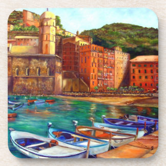Portofino, Italy Drink Coaster