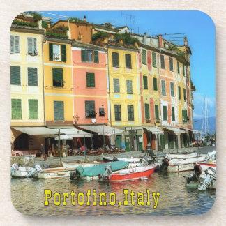 Portofino Italy Drink Coasters