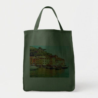 PORTOFINO, ITALY (GROCERY TOTE) TOTE BAGS
