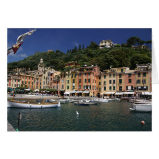 Portofino, Italy Note Card