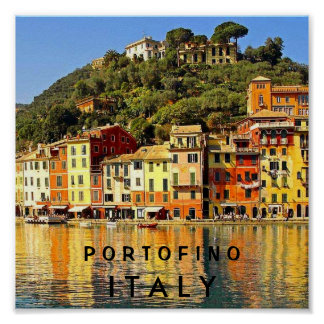 PORTOFINO ITALY POSTERS
