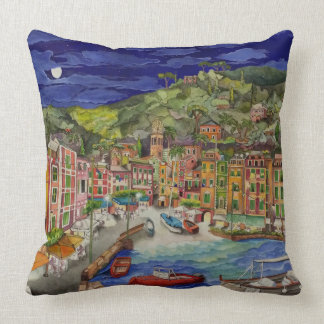 Portofino, Italy Throw Pillow