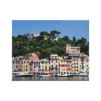 Portofino, Italy  Tom Wurl Gallery Wrapped Canvas