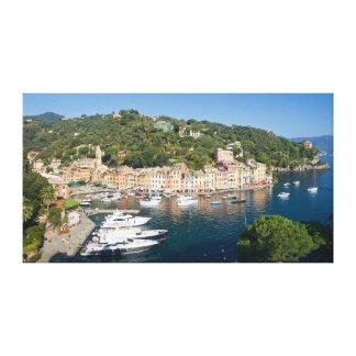 Portofino  panorama gallery wrapped canvas