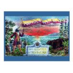 Portola Festival Explorers and Bear at SF Bay Postcard
