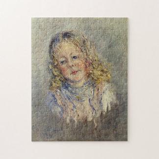 Portrait Andre Lauvray Monet Fine Art Puzzle