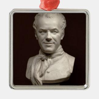 Portrait Bust Etienne Maurice Falconet , 1773 Christmas Ornament