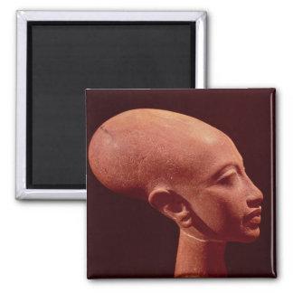 Portrait bust of a daughter of King Akhenaten Magnet