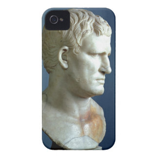 Portrait bust of Agrippa (63-12 BC) Roman (marble) iPhone 4 Case-Mate Cases