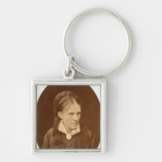 Portrait bust of Anna G. Dostyevskaya Key Ring