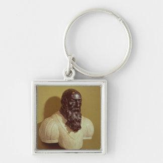 Portrait bust of Jean de Bologna  1608 Key Ring
