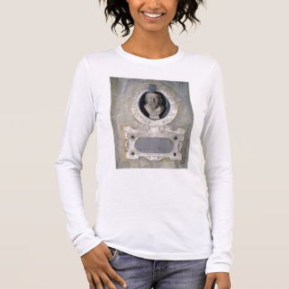 Portrait bust of Joannes Stradanus, Flemish-born p Long Sleeve T-Shirt