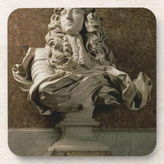 Portrait bust of Louis XIV (1638-1715), 1665, (mar Coasters