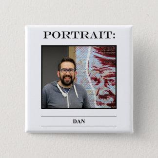Portrait Button No. 7