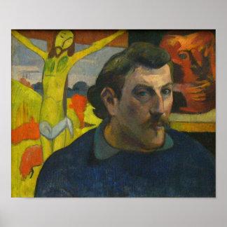 Portrait by Paul Gauguin, 1889 Poster