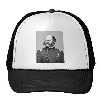 Portrait Civil War General Ambrose E. Burnside Cap
