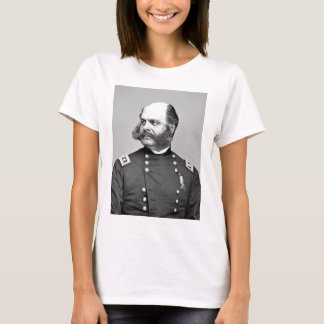 Portrait Civil War General Ambrose E. Burnside T-Shirt