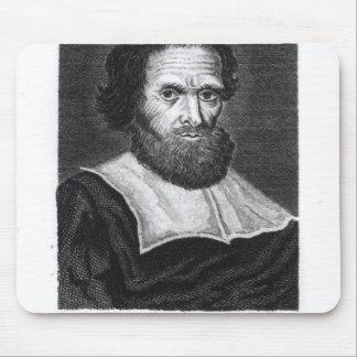 Portrait Dr Simon Forman  engraved by Godfrey Mouse Mat