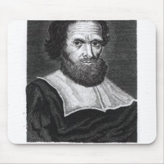 Portrait Dr Simon Forman  engraved by Godfrey Mouse Pad