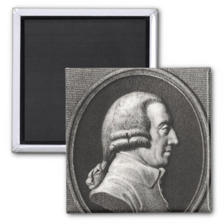 Portrait from a medallion of Adam Smith Magnet