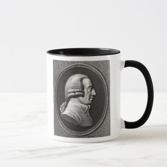 Portrait from a medallion of Adam Smith Mug