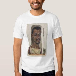 Portrait from Fayum (encaustic wax on wood) T-shirts