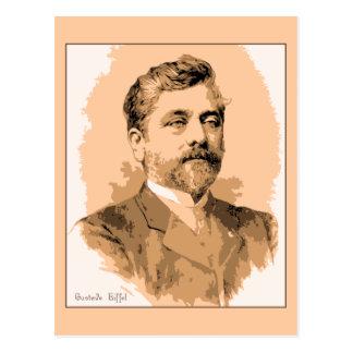 Portrait Gustave Eiffel Postcard