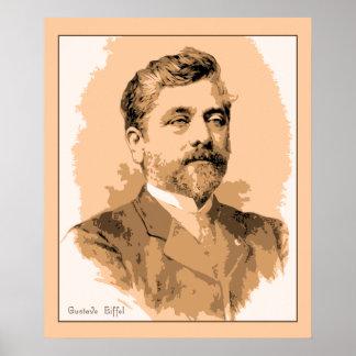 Portrait Gustave Eiffel Posters