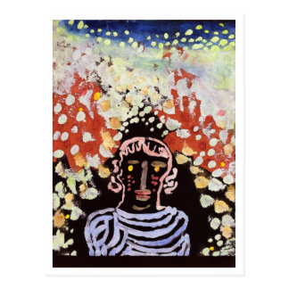 Portrait in the Garden By Paul Klee Postcards