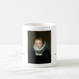 Portrait Maid Honour Infanta Isabella Rubens Paul Basic White Mug