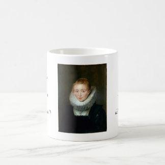 Portrait Maid Honour Infanta Isabella Rubens Paul Basic White Mug