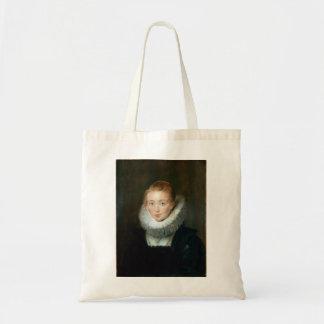 Portrait Maid Honour Infanta Isabella Rubens Paul Budget Tote Bag