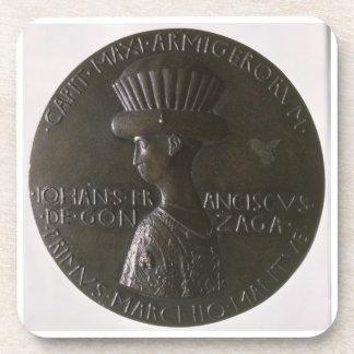 Portrait medal depicting Gianfrancesco Gonzaga (13 Drink Coaster