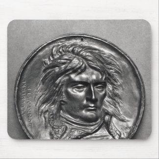 Portrait medallion of General Bonaparte  c.1830 Mouse Pad