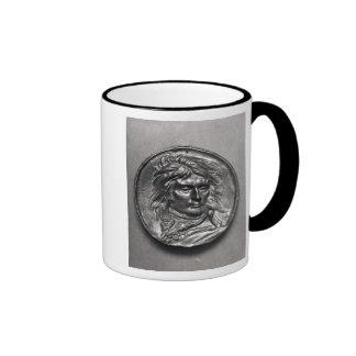 Portrait medallion of General Bonaparte  c.1830 Ringer Mug
