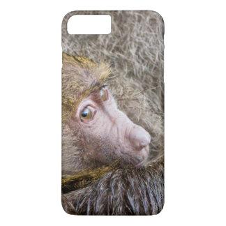 Portrait Of A Baby Olive Baboon (Papio Anubis) iPhone 8 Plus/7 Plus Case