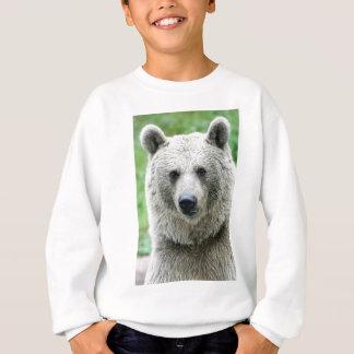 Portrait of a bear sweatshirt