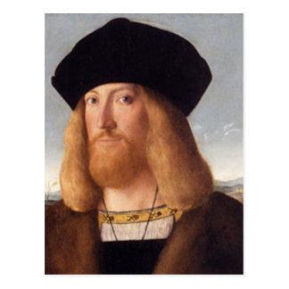 Portrait of a Bearded Gentleman Post Card