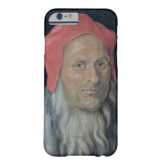Portrait of a Bearded Man in a Red Hat, 1520 (oil Barely There iPhone 6 Case